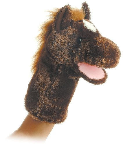 Horse Puppet<br>Aurora World <br>Approx 10 Inches