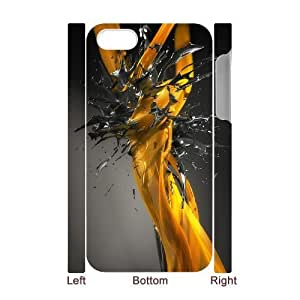 3D Splash iPhone 4/4s Case White Kimberly Kurzendoerfer