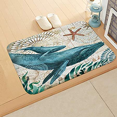 51Jkh9AsDLL._SS450_ Whale Rugs and Whale Area Rugs