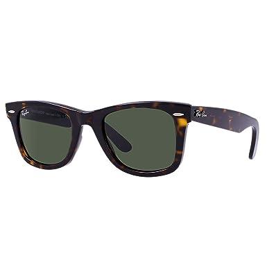 101c59189 Óculos de Sol Ray Ban Wayfarer Classic RB2140 902-50: Amazon.com.br ...
