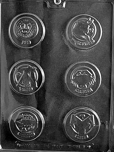 - 2 Piece Zodiac Signs Pieces Mold Chocolate Candy molds Taurus Aries Astrology
