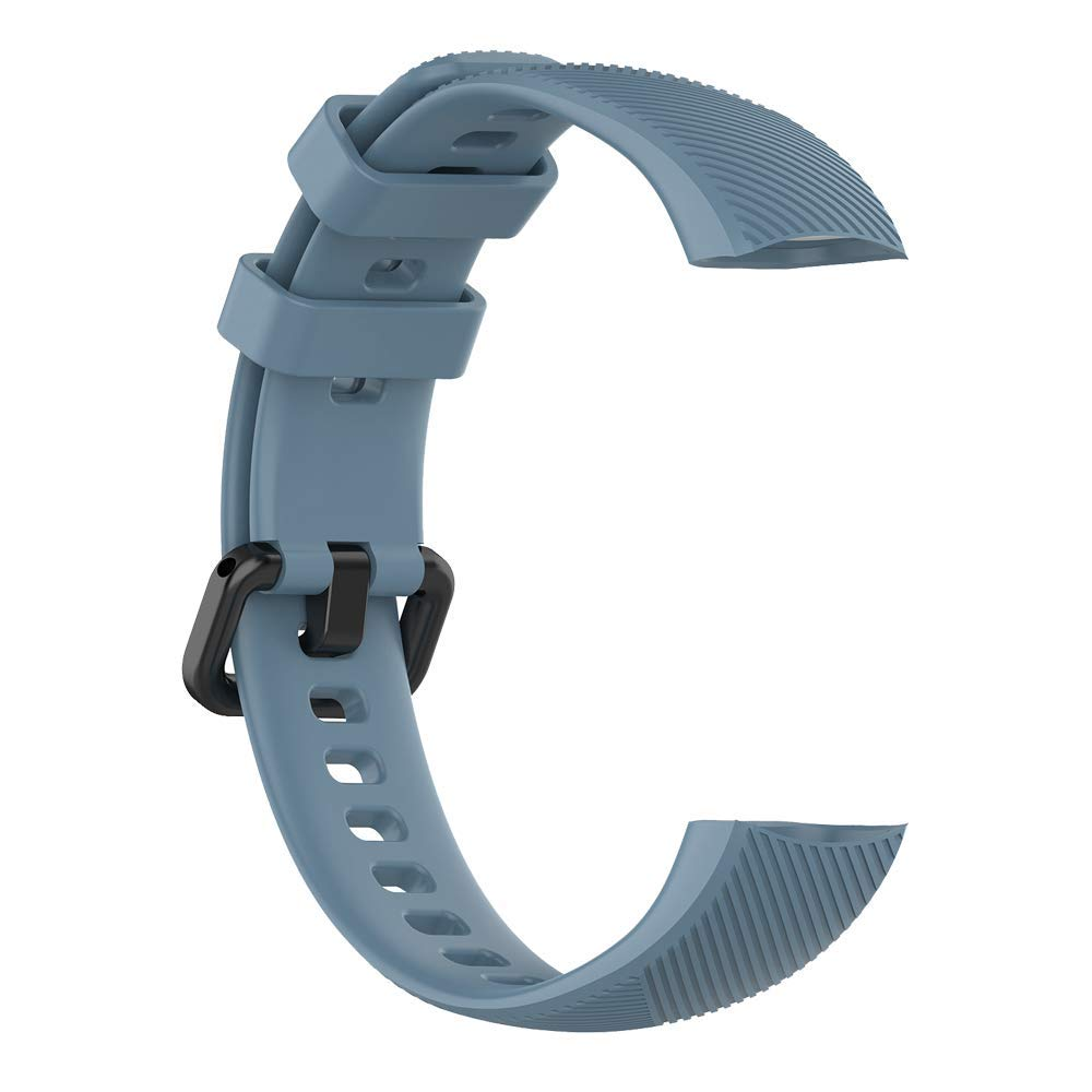 ILOFT Slicone Wristband Sport Accessory Strap (Plus Screen Guard) for Honor Band 5 (Also Compatible with Honor Band 4) (Slate) (B083Z8YD4W) Amazon Price History, Amazon Price Tracker