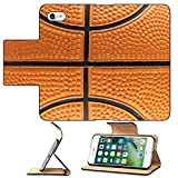 Luxlady Premium Apple iPhone 7 Flip Pu Leather Wallet Case iPhone7 IMAGE ID 1978535 Basketball background