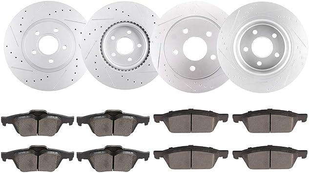 New Unipart Rear Brake Discs /& Pads Ford Grand//C-Max II Kuga Transit OE Quality
