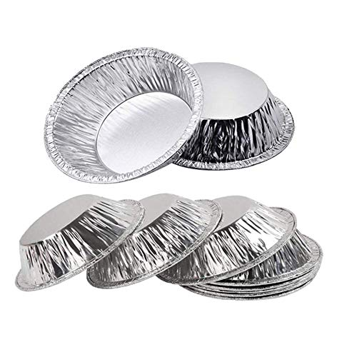 Amazon.com: Bangbuy Disposable Aluminum Foil Mini Tart/Pie ...