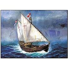 Zvezda (ZVEZDA) sailboat plastic model Nina (9005)