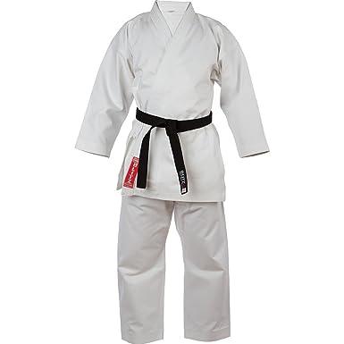 Blitz - Traje de Plata Torneo de Karate Blanco, 5.5/185 cm ...