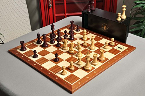 The Gilded Grandmaster Chess Set, Box, Board Combination - 4.0