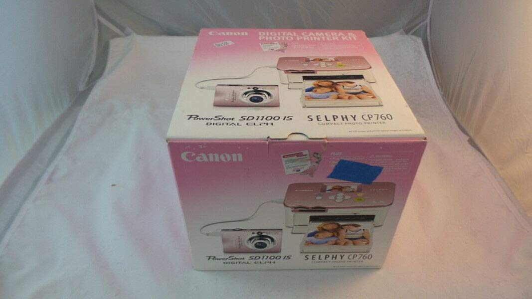 Canon Selphy CP760 Pink Compact Photo Printer (3255B001)