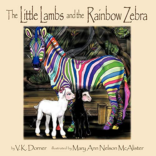 The Little Lambs and the Rainbow -