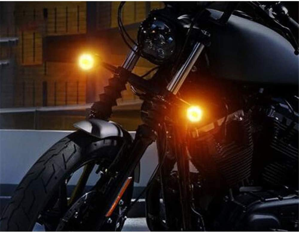 Mubaoyu 4 Piezas Intermitentes Moto Halogeno Luz Senal de Giro Universal