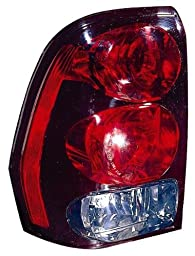 DEPO (335-1904L-AF) Chevy Trailblazer Driver Side Replacement Taillight