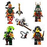 Best Ninjago Sets - LEGO® Ninjago 5 Skybound Pirate Army - Clancee Review