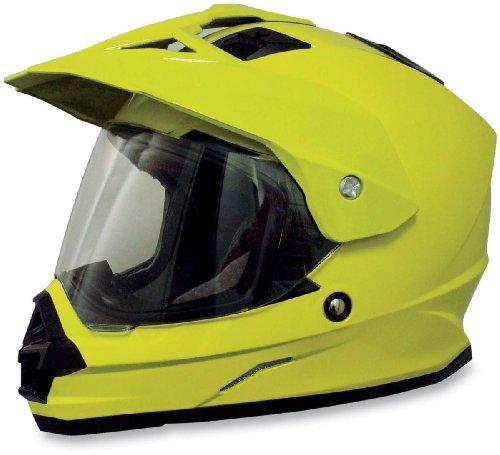 AFX FX-39 DS Hi-Vis Helmet - Large/Hi-Visibility Yellow