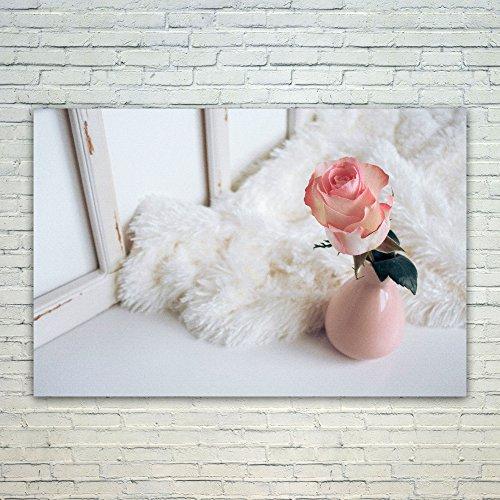 Westlake Art Poster Print Wall Art - Pink Flower - Modern Pi
