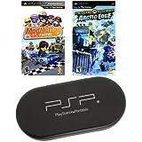 PSP STARTER 2 Game Bundle with UMD Case Holder - Limited Offer