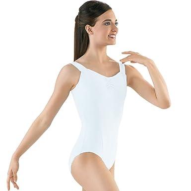 5ea11181b383 Capezio Womens Juniors White Tank Gymnastics Dance Leotard Size XL: Capezio:  Amazon.co.uk: Clothing