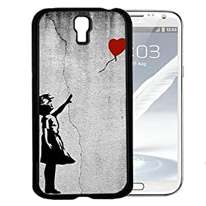Banksy Balloon Girl There Is Always Hope Hard Snap On Cell Phone Case Cover (Samsung Galaxy S4 I9500)
