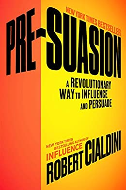 Pre-Suasion- Best books for entrepreneurs