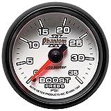 """Auto Meter 7504 Phantom II 2-1/16"""" 0-35 PSI Mechanical Boost Gauge"""