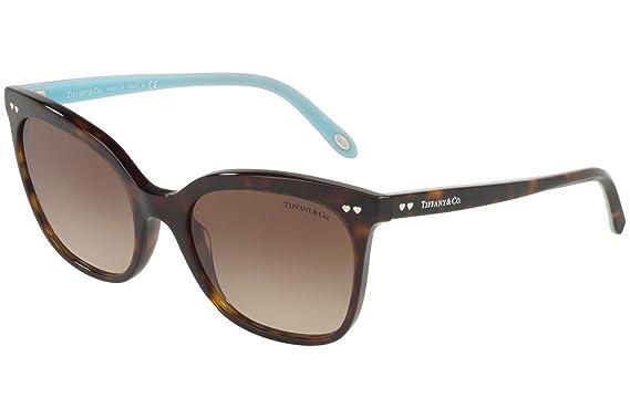 Tiffany 0TY4140 80153B 54, Gafas de Sol para Mujer, Marrón ...