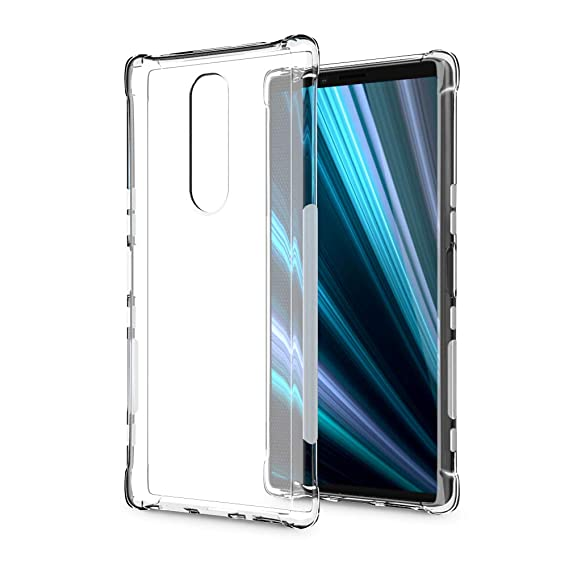 Amazon com: SLEO Case for Sony Xperia XZ4 / Xperia 1 Case