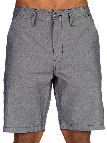 (Oakley Men's Oxford Short, Jet Black,)