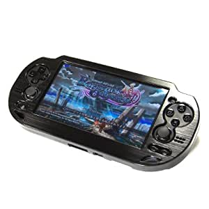 COSMOS ® Black Aluminum metallic protection hard case cover for Playstation PS VITA & Cosmos Brand LCD Touch Screen Cleaning Cloth