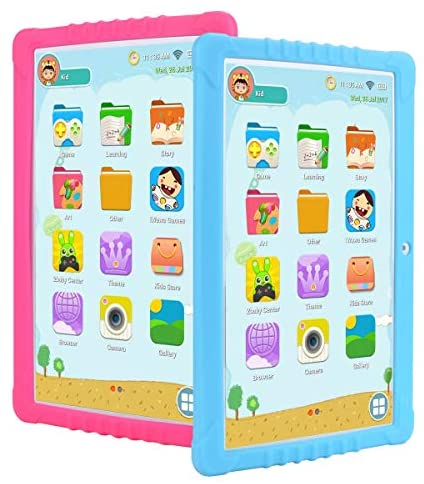 SANNUO Kids Tablet 10.1 inch, GMS-Certified Android 9.0,Kids -Mode,2GB RAM,2.0+5.0MP Dual Camera,IPS1280x800 Screen,3G,GPS,Google Play with Learning App for Children