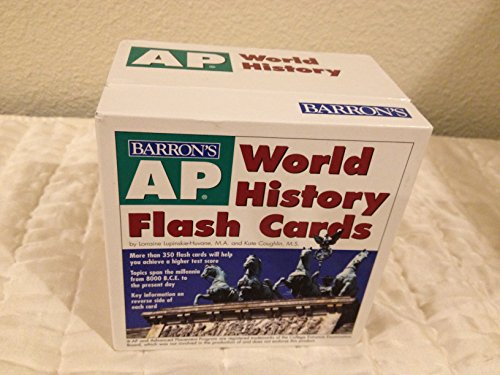 AP World History Flash Cards by Lupinskie-Huvane Lorraine Coughlin Kate (2006-08-01) Cards