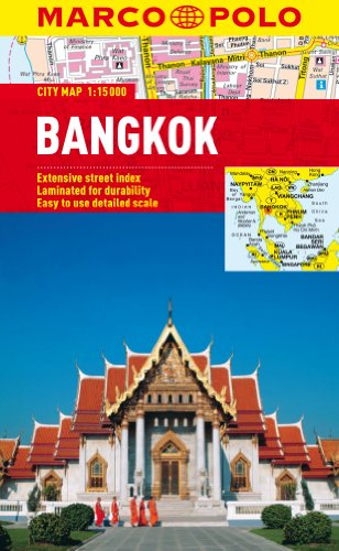 Bangkok Marco Polo City Map (Marco Polo City Maps) (Bangkok Map)