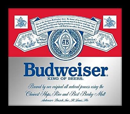 Amazon com: SOTT Officially Licensed Anheuser Busch Budweiser King