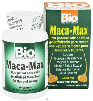 BIo Nutrition Maca Max 30 Tablets