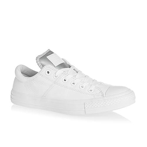 Converse - Chuck Taylor All Star Madison, Zapatillas Mujer, Blanco (White/Silver), 37.5 EU: Amazon.es: Zapatos y complementos