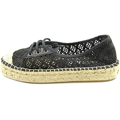 Diane von Furstenberg Womens Tareena Fashion Sneaker Black Salema Fabric ZAlOZi4i