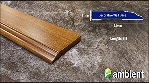 tive Baseboard Carbonized (2-Pack) Prefinished ()