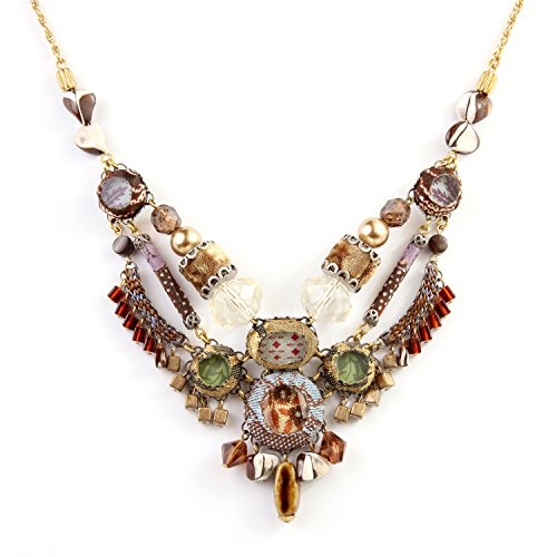 Ayala Bar Hip Collection Collection Necklace Almond brown...