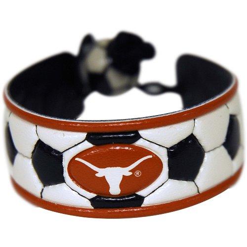 Texas Longhorns Classic Soccer Bracelet (Soccer Longhorns Texas)