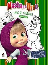 Masha e o Urso: Livro de Atividades com Adesivos