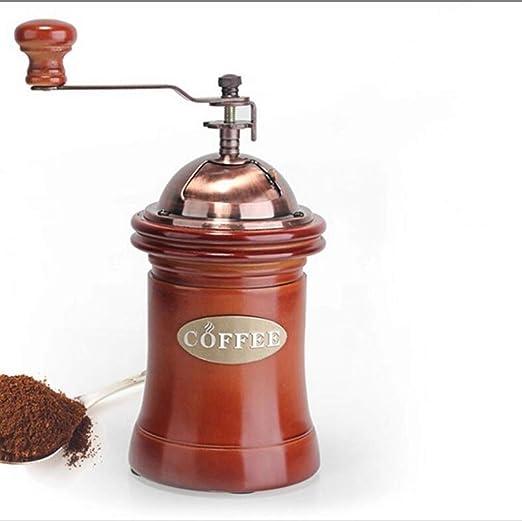LJXWH Molinillo de café Máquina de moler café Manual Cabina de Frijol de Polvo Cafetera de Gran Capacidad Molinillo Manual portátil para Café Restaurante del Hotel: Amazon.es: Hogar