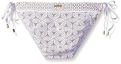 Laundry by Shelli Segal Women's Crochet Tie Side Hipster Bikini Bottom