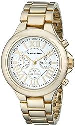 Vernier Women's VNR11157YG Vernier Gold-Tone Watch