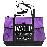 Dancer Athlete & Artist Vanessa: Gemline Select Zippered Tote Bag
