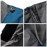 Men Casual Hooded Rain Jacket-Diamond Candy