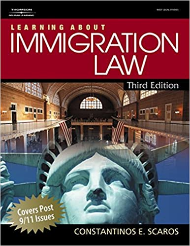 Learning about immigration law constantinos e scaros 9781418032593 learning about immigration law constantinos e scaros 9781418032593 amazon books fandeluxe Image collections