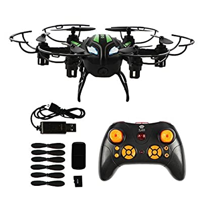 ALY MT9926 2.4GHz 4CH 6 Axis RC Quadcopter Radio Control Drone with HD Camera (Black) from ALY