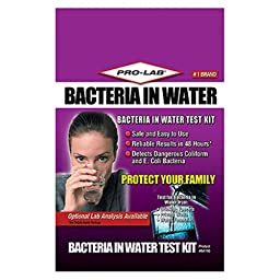 Pro-Lab Inc  Bacteria In Water Testing Kit BA110