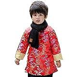 Hooyi Baby Boy Long Sleeve Quilted Jacket