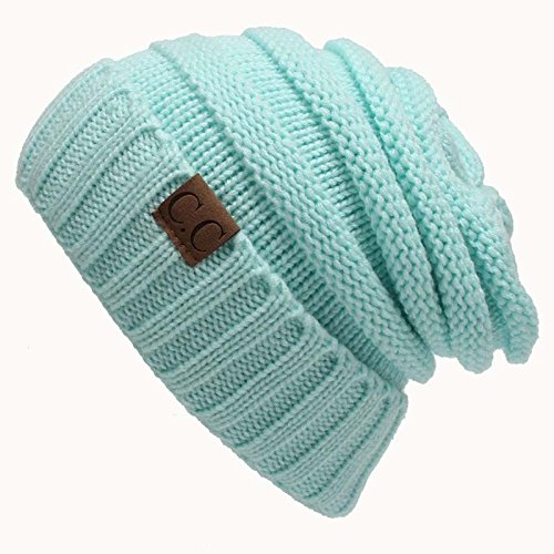 5a9c55fcff8 Amazon.com   ekingWomen Winter Knitted Wool Cap CC Beanies Unisex Casual  Hats   Caps Men Solid Color Hip-Hop Skullies Beanie Warm Hat   Everything  Else
