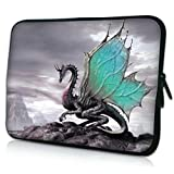 iBenko Wing Dragon Neoprene Sleeve Pouch Case for MacBook 12/Macbook Air 11/all Google Chromebook 11.6' Laptop